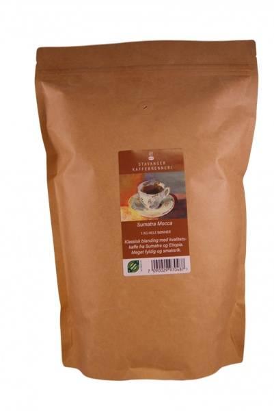 Bilde av  Sumatra Mocca Øko filtermalt kaffe 1 kg, Stavanger