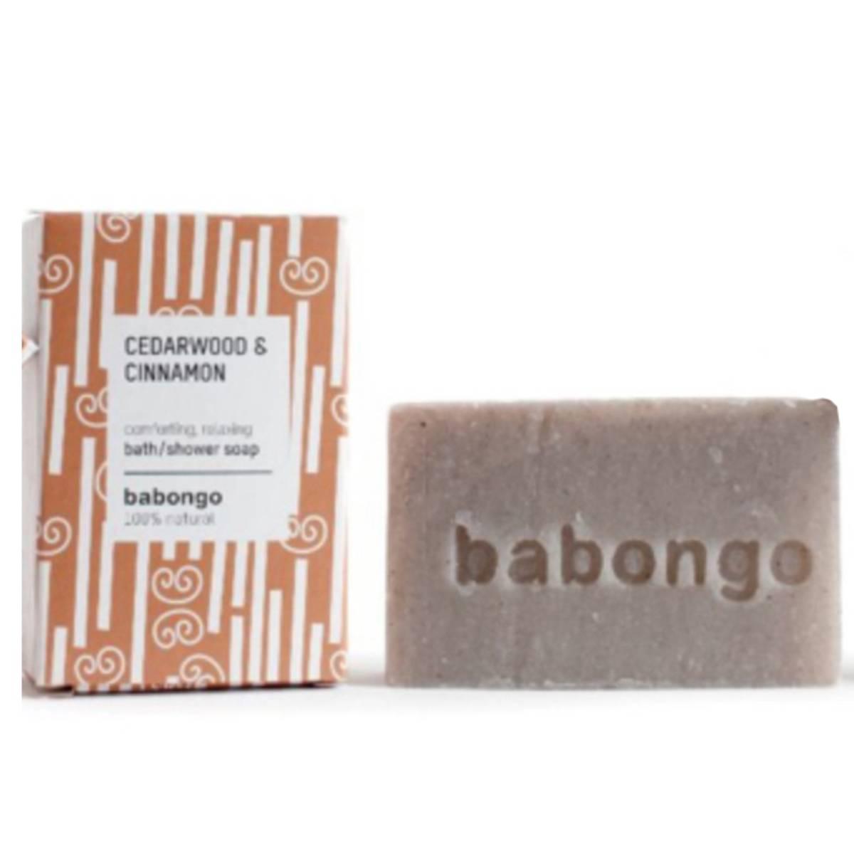 Babongo Soap Cedarwood & Cinnamon Bath&Shower