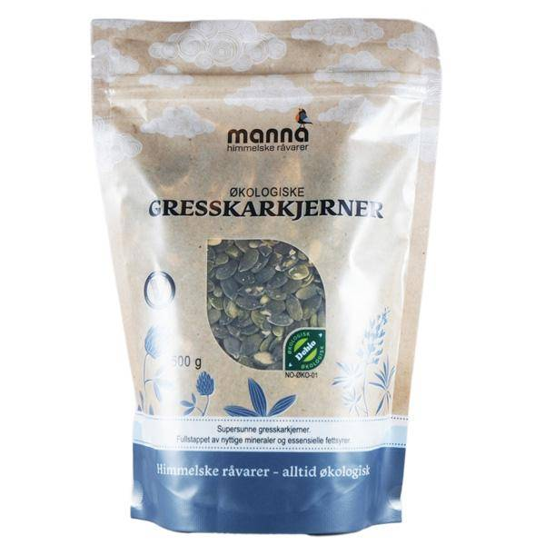Bilde av Manna Gresskarkjerner 500 gram