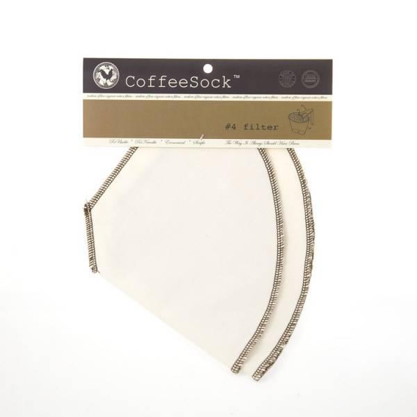 Bilde av CoffeeSock kaffefilter nr 4 (2-pk)