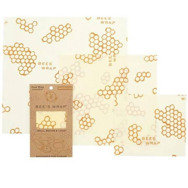 Bilde av Bees Wrap - Assorted 3 pack Classic