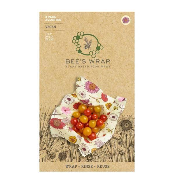 Bilde av Vegan Bees Wrap - Assorted 3 pack Medow Magic