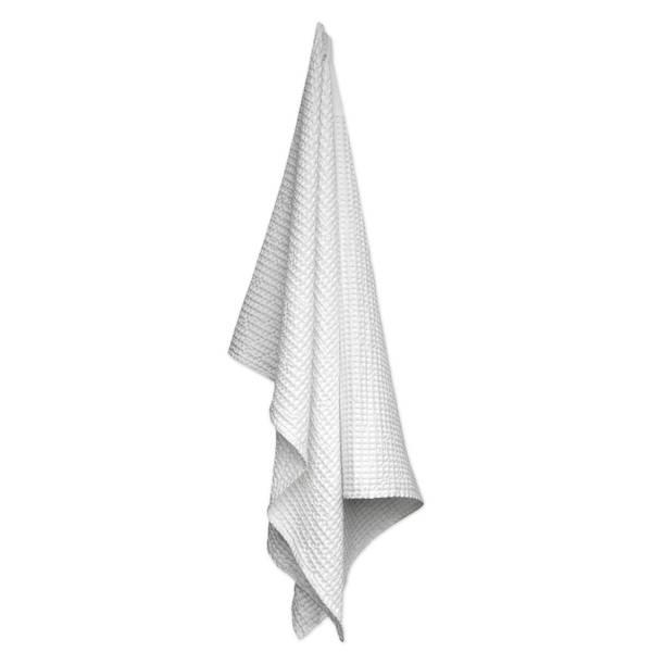 Bilde av Big Waffle Towel & Blanket Natural White