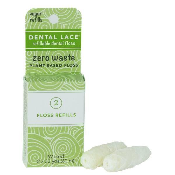Bilde av Dental Lace REFILL Vegan Plantebasert tanntråd