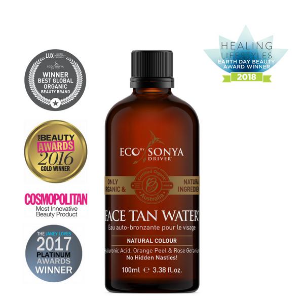 Bilde av Eco by Sonya Face Tan Water Selvbruning 100 ml *1 igjen*
