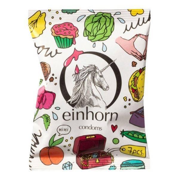 Bilde av Einhorn 7-pk veganske kondomer Uhuu